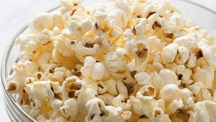 Come fare i popcorn in modo veloce con il microonde