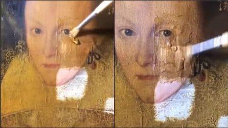 Sperimenta un nuovo prodotto sul dipinto del 17° secolo: l'emozionante rivelazione