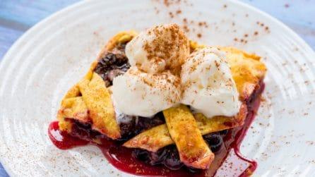 Blueberry Pie: an amazing dessert!