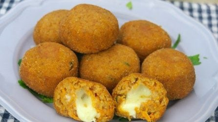 Pumpkin meatballs: easy, quick and tasty!