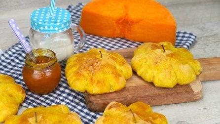 Panini alla zucca: perfetti per una tavola d'autunno!
