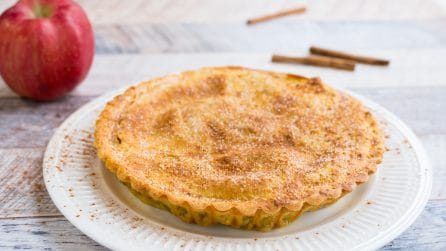 Apple pie: the traditional american dessert!
