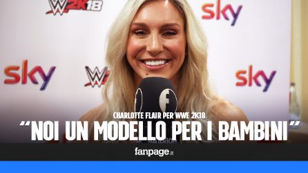 """Charlotte Flair, 5 volte campionessa mondiale di wrestling: """"Vogliamo essere un modello per i bambini"""""""
