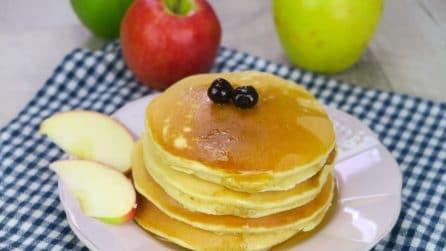 Pancakes alle mele: la versione golosa e saporita!