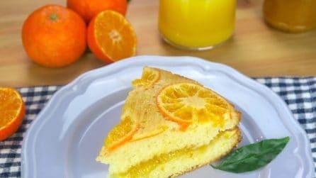Torta ai mandarini: troppo soffice e buona per non provarla!