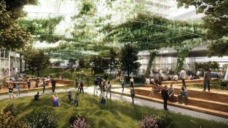 Milano, un parco lineare di 1,5 km sull'ex decumano di Expo 2015