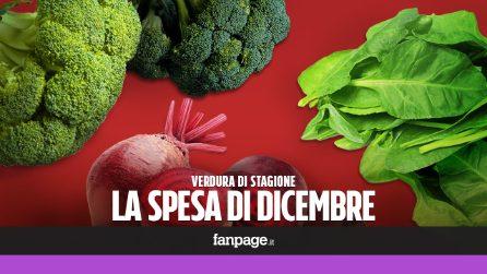 La verdura di stagione: cosa comprare a dicembre