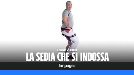 Chairless Chair, la sedia indossabile