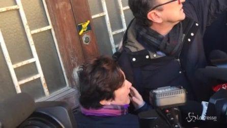 """Morte Riina, la figlia contro i giornalisti: """"Che schifo, andate via: qui c'è un cadavere"""""""