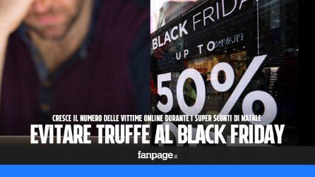 Black Friday e truffe: come evitare le offerte fasulle che vi rubano i dati personali