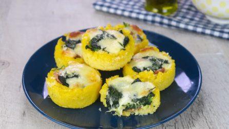 Cestini di polenta: un secondo sfizioso e pieno di sapore!