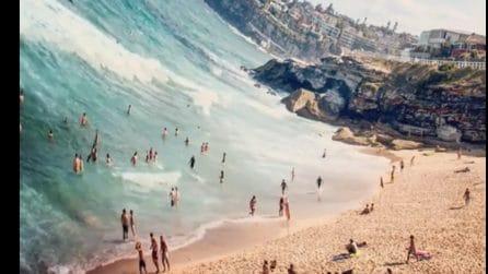 L'animazione dell'onda che lascia tutti a bocca aperta