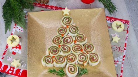 Albero di girelle: l'antipasto originale e sfizioso per la vigilia di Natale!