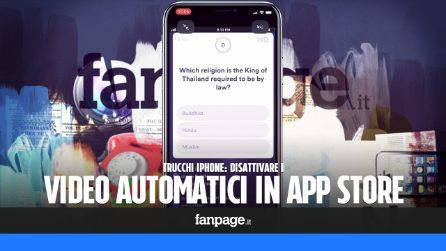 Disabilitando la riproduzione automatica dei video nell'App Store puoi risparmiare traffico dati
