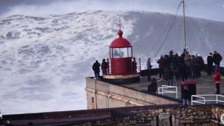 Nazarè, le onde più alte al mondo