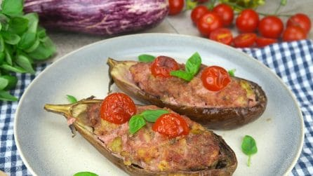 Stuffed eggplants: delicious and super easy to make!