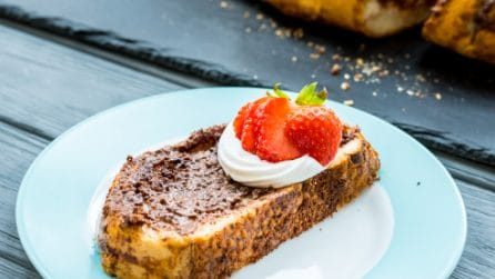 Chocolate french toast: you must try this!
