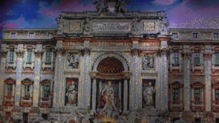 La Fontana di Trevi a mattoncini, apre a Roma il megastore Lego