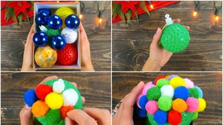 Come riciclare delle vecchie palline di Natale