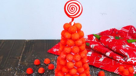 Candy tree: a yummy idea for your Christmas