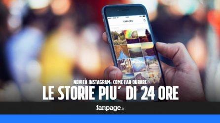 Aumentare la durata delle storie di Instagram utilizzando la nuova funzione Highlights