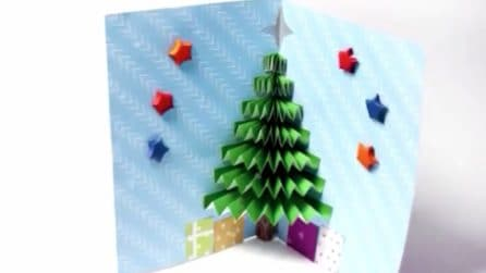 Come realizzare un biglietto di auguri 3D a tema natalizio: un'idea fai da te facile e originale