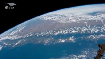 Spazio, in volo sulle Ande: il timelapse mozzafiato dell'astronauta Paolo Nespoli