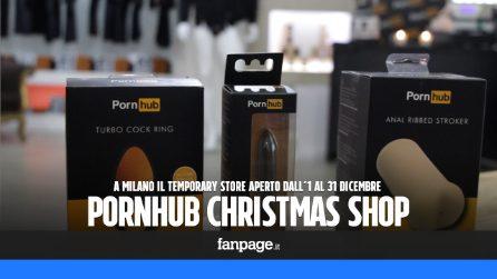 Pornhub apre a Milano: ecco cosa c'è nel negozio del sito per adulti