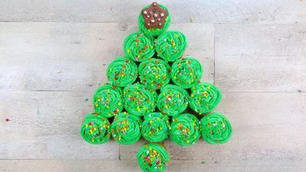 Come fare un albero di cupcake