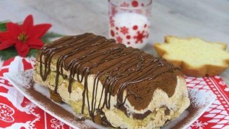 Mattonella di pandoro al cioccolato: il dessert ideale per Natale!