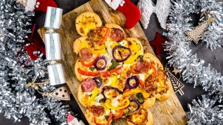 Albero di Natale pizza: l'idea gustosa perfetta per le feste!