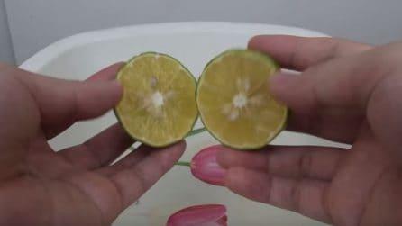 Usa acqua e limone per pulire i vetri: ecco il risultato