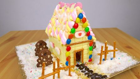 How to make a candy house