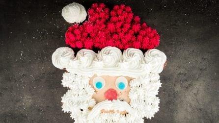 Babbo Natale di cupcakes: l'idea geniale per Natale!