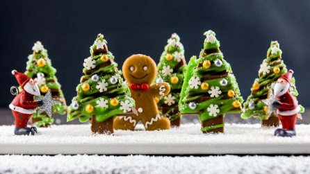Chocolate Christmas Trees
