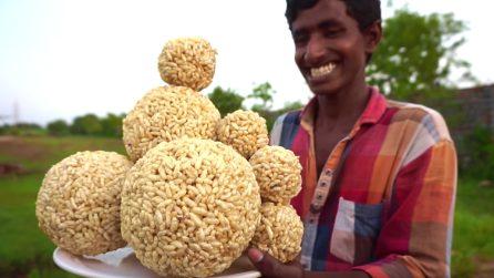 """Le enormi """"bombe di riso"""": il dolce tipico indiano"""