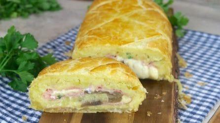 Rotolo di patate in crosta: una delizia da preparare al più presto!
