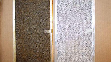 Come pulire il filtro della cappa in cucina