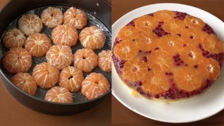 Mette i mandarini nella teglia:la ricetta per una fantastica torta agli agrumi