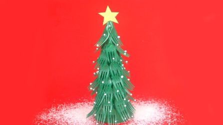 How to make a Christmas Tree using recycled forks