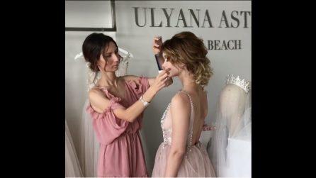 Un look perfetto per una sposa: l'acconciatura da sogno per un giorno speciale