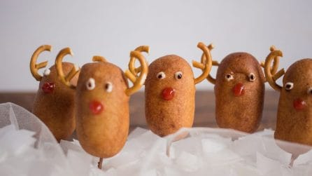 Christmas Corn dogs