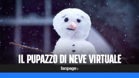 L'app di natale per creare un pupazzo di neve con la realtà aumentata