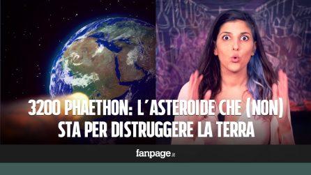 Un asteroide sta per colpire la Terra? La verità su 3200 Phaethon