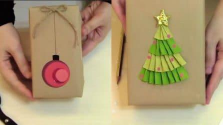 Come realizzare bellissimi pacchetti natalizi