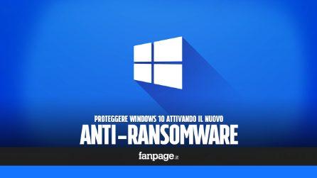 Attivando questa nuova funzione di Windows 10 potrai proteggere le tue cartelle personali