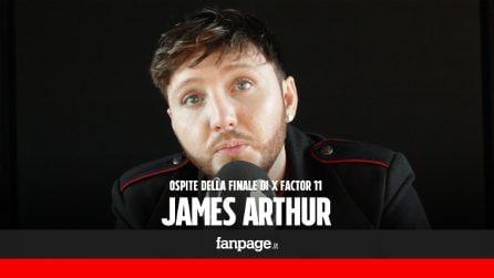 """James Arthur a X Factor 11: """"Talent importanti per chi come me non aveva modo di farsi ascoltare"""""""