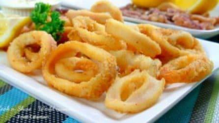 Come preparare un'ottima frittura di calamari