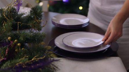 Come apparecchiare la tavola natalizia in pochi minuti