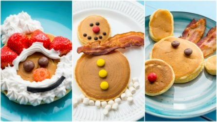 Come preparare dei pancakes natalizi